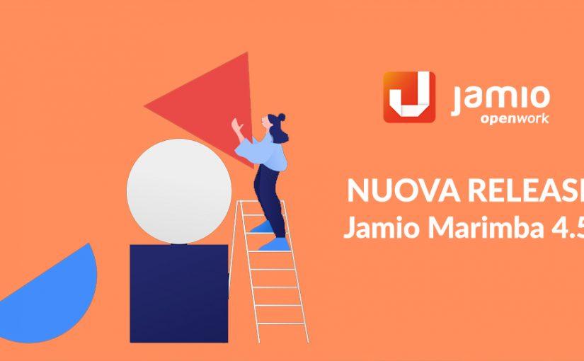 Disponibile la nuova Jamio MARIMBA 4.5 R4